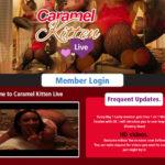 Caramel Kitten Live Site Rip New