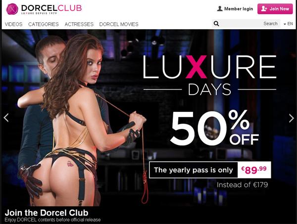 Clubdorcel Sign Up
