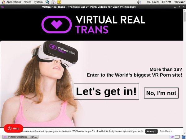 Virtual Real Trans Images