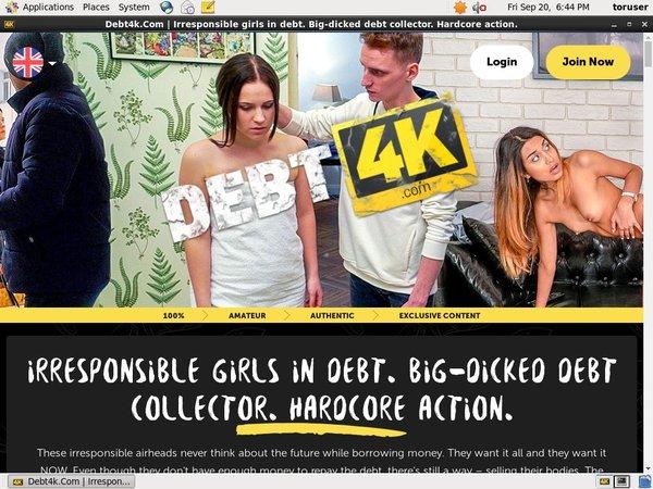 Debt4k.com Login Info