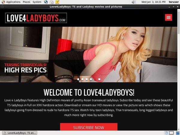 Love 4 LadyBoys Limited Rate