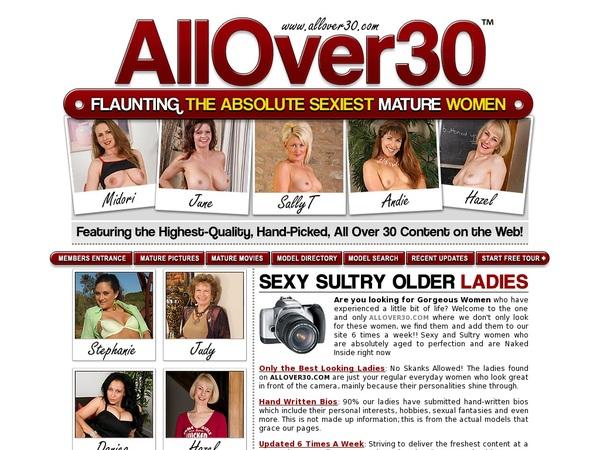 Allover30.com Free Access