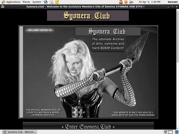 Syonera Club Free Hd Porn