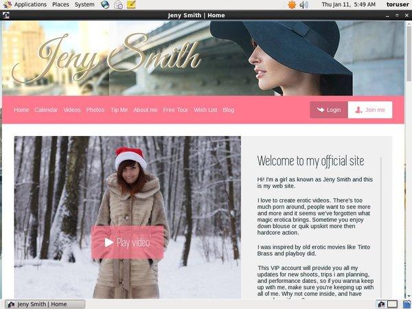 Jeny Smith Active Password