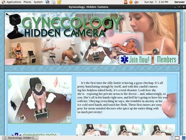Gynecology. Hidden Camera. Girls