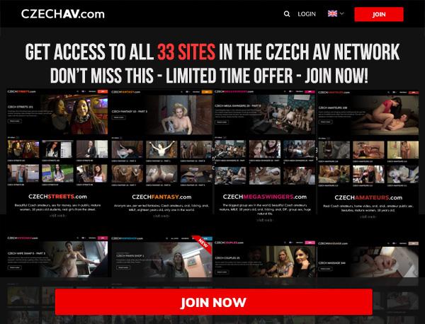 New Czech AV Account